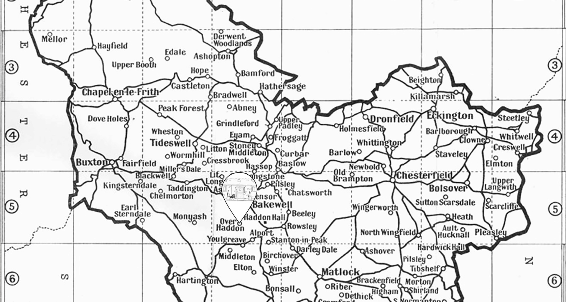 Juniper Cottage Map 2020